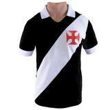 Camisa Retro Do Vasco Da Gama 1957 Penalty