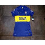 Boca Juniors Nike Dri Fit 2015 Match Tela De Juego Nueva