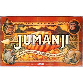 Jumanji La Jungla Original Juego De Mesa Educando