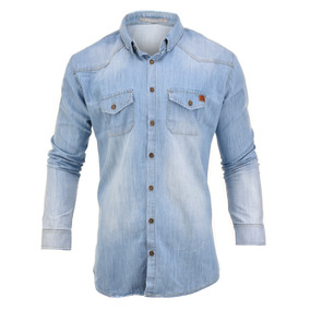 Camisa Farenheite Jeans Celex Slim Fit