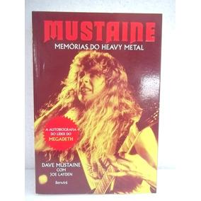 Mustaine (megadeth) Biografia Livro Em Estado Impecável