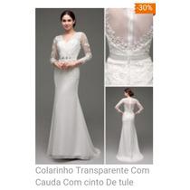 Vestido De Noiva De Alta Costura Feito Sobre Medida