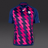 Camiseta Rugby Asics Stade France Paris 2016 2017 Rayos!