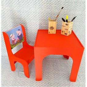 juego de mesa y dos sillas para nios