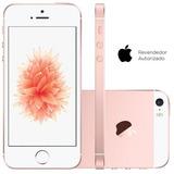 Smartphone Apple Iphone Se 64gb Ouro Rosa Novo Original
