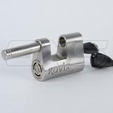 Candado Kovix Kbl16 Con Alarma Para Cadenas Y Portones Acero