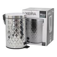 Lixeira Inox 5lts Pedal Redonda Balde Interno Móvel Ixa02017
