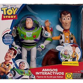 Toy Story Buzz Y Woody Amigos Interactivos Juguetes Pepona