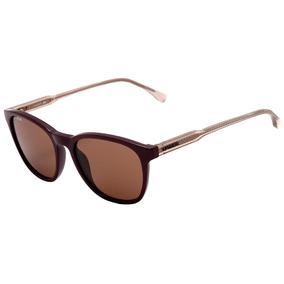 902c676296864 Óculos De Sol Lacoste Cor Principal Marrom no Mercado Livre Brasil