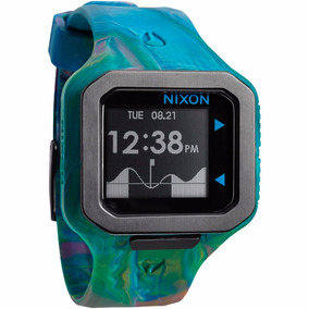 Reloj Nixon A3161610 Supertide Alarma Cronografo Mareas