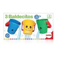 3 Baldecitos Encastre Juego Para El Baño Original Antex 2615