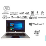 Laptop 2 En 1 Tablet Intel 4gb 32gb Bt Hdmi Windows 10 Shift