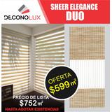 Persiana Sheer Elegance Duo $599 M2 Envio Gratis!!