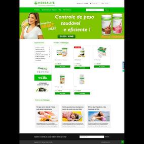 Loja Virtual Com Blog Integrado Para Revendedores Herbalife