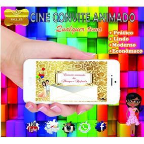 Convite Animado Virtual- Casamento