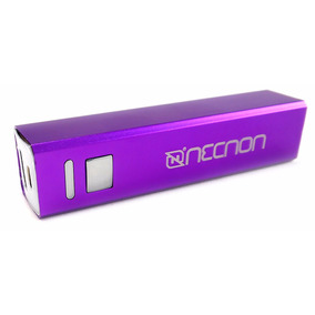 Necnon Power Bank Bateria Portatil 2600mah Celular Pw-01b Mo