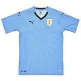 Camiseta Uruguay Niño (auf) Puma Celeste 2017 2018 Mundial