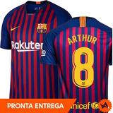 Camisa Barcelona Passeio Oficial Nike no Mercado Livre Brasil 91220cb406f