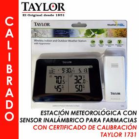 Termohigrómetro Calibrado, Farmacias Y Lab Taylor 1731
