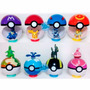 Pokeball Pokebola 7 Cm + 1 Pokemon De Regalo+ Cartas Pokemon