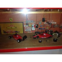 Maqueta Taller Ferrari F1 De Colección Burago Escala 1/18