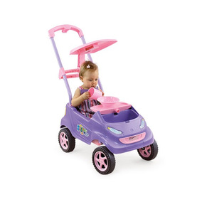 Carro Baby Car Lilás 4004 - Homeplay
