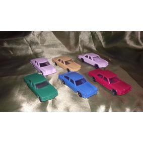 Carritos Vintage Ha Escala Lote De 6 Modelos De Plastico