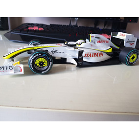 F1 Brawn 1/18 Gp Button Campeão Mundial 2009