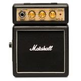 Amplificador Marshall Mini Negro C/ 1 Bocina 1watt Ms-2