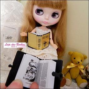 Bíblia Miniatura P/ Boneca Blythe E Pullip * Re-ment Livro