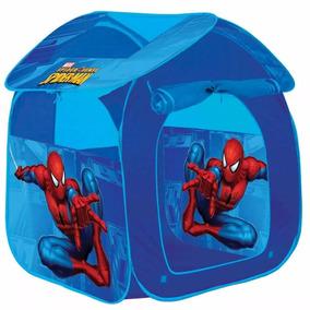 Barraca Infantil Portatil Casa Homem Aranha Herói Marvel