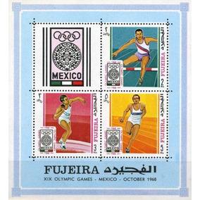Fujeira 1968 Jogos Olímpicos México 68 Mint 192