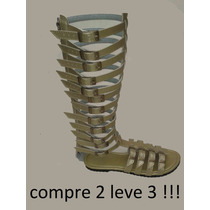 Sandália Do 33 Ao 44 Gladiadora Promoção Compre 2 Leve 3