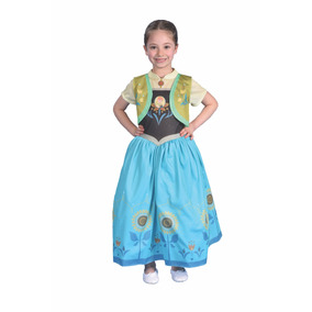 Disfraz Frozen Anna Fever Licencia Original New Toy