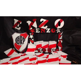 0b0ef50a7 Bolsitas De Cumpleaños De River Plate - Souvenirs para Cumpleaños ...