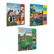 Clarín Colección Libros Con Sonido Set 5 De 3 Libros