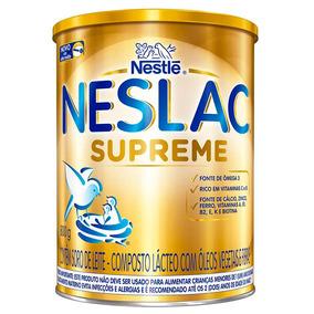 Composto Lácteo Nestlé Neslac Supreme Lata 800g