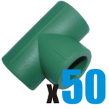 Bolsa X 50 Tee De Termofusión 20 Mm - Deltero Ferretería