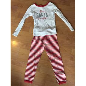 Pijama Navideña Dear Santa Para Niña Carters Talla 5