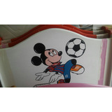 Cama Plaza Y Media Mickey Mousemous