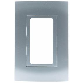 Placa Leviton P Accesorios Decora, Color Aluminio, Modular U