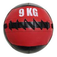 Pelota Sin Pique 9kg Medicine Ball Crossfit Calidad
