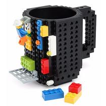 Divertida Taza Con Diseño Bloques De Construcción Lego