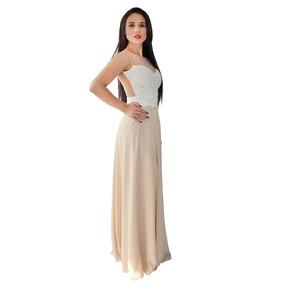 Vestido Largo Elegante Para Fiestas De Día O Noche 6000