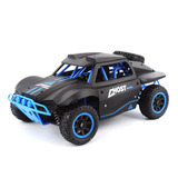 Racing Rally Carro Rc Truck 1:18 Escala 4x4 Azul Gosth