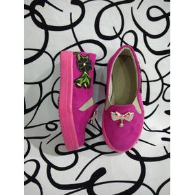 Zapatos Colores De La Bandera De Colombia - Zapatos Fucsia en ... 69a148212c42