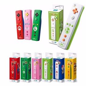 Controle Remote Wii U Motion Plus Edição Mario Luigi Peach
