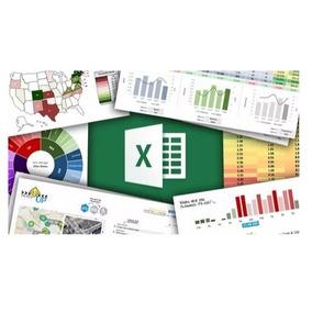 100 Planilhas Excel Editáveis