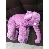 Almohada Super Suave Para Bebe Elefante 60cm Envio Inmedia