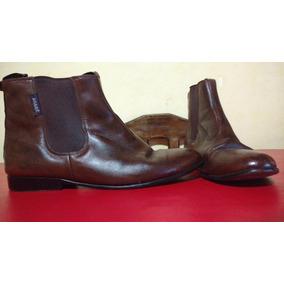 Botas/zapatos Agabe Originales De Hombre, Cuero Legitimo.
